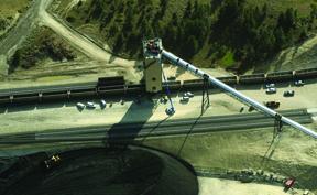 Signal Peak mine. Photo by Larry Mayer/ Billings Gazette.