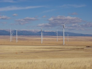 Judith Gap Wind Farm.