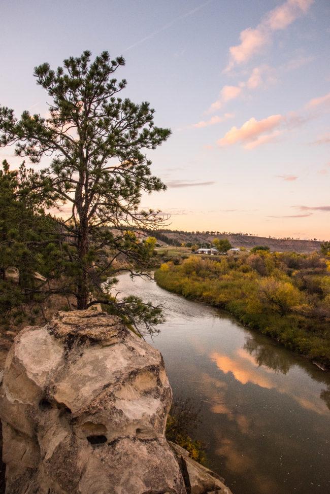 Tongue River. Photo by Alexis Bonogofsky, www.eastofbillings.com