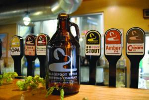 Blackfoot Brewery in Helena, MT.
